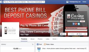 sms deposit online casino