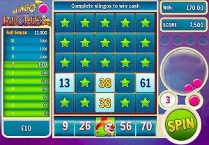 Slingo Riches Real Money Slots