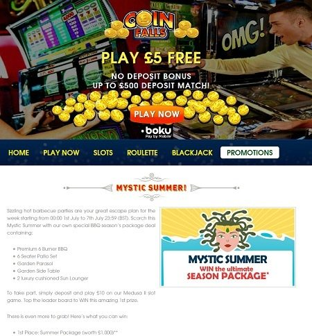 Premium Casino Website